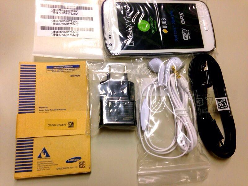 WTS Samsung Galaxy Core BNOB