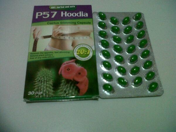 Hoodia p57 pelangsing tubuh