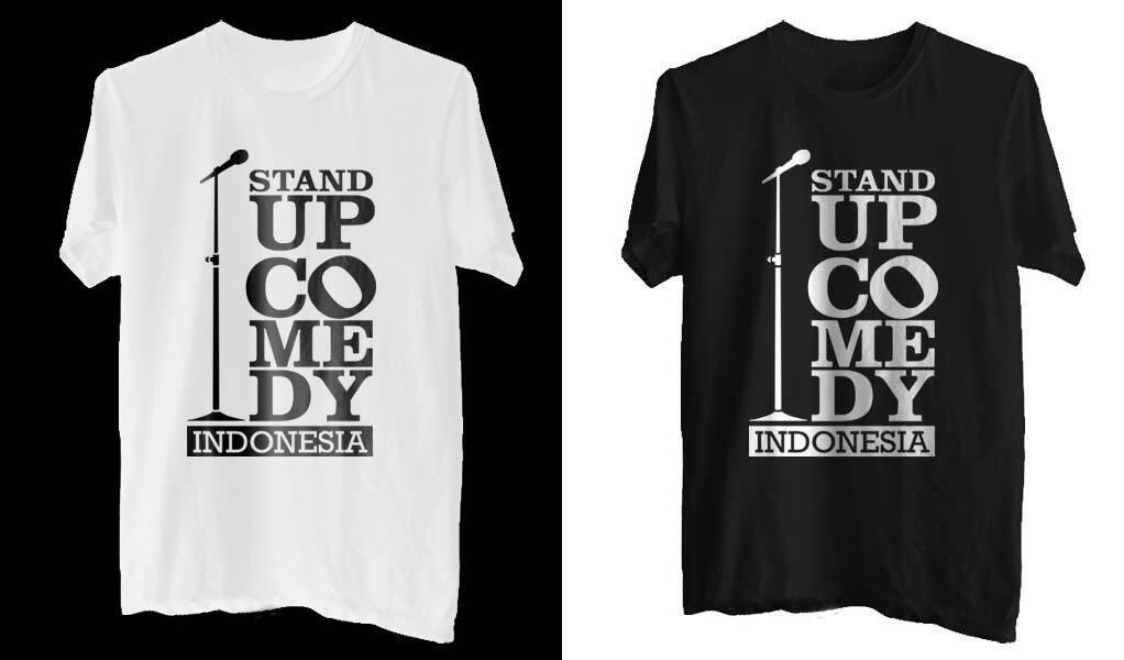 Kaos/T-shirt Stand Up Comedy Indonesia dan KPK