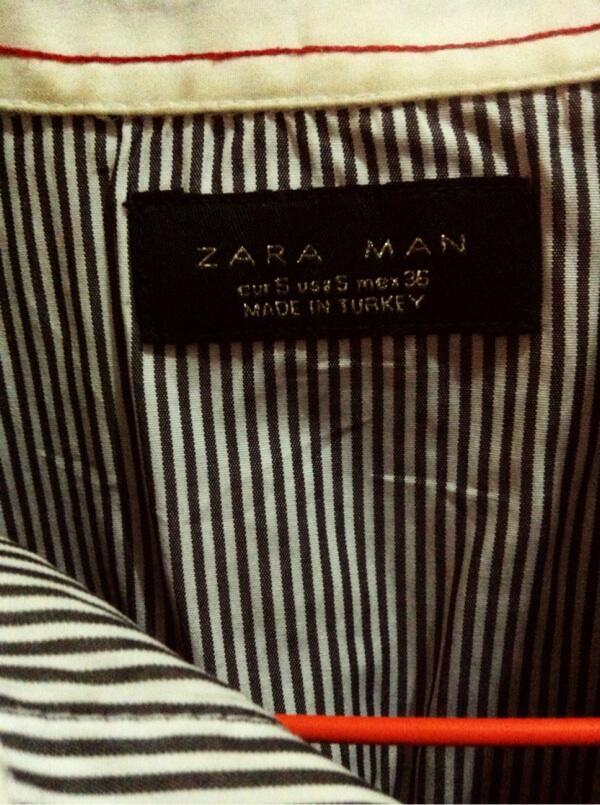 WTS Polo Shirt Zara Man