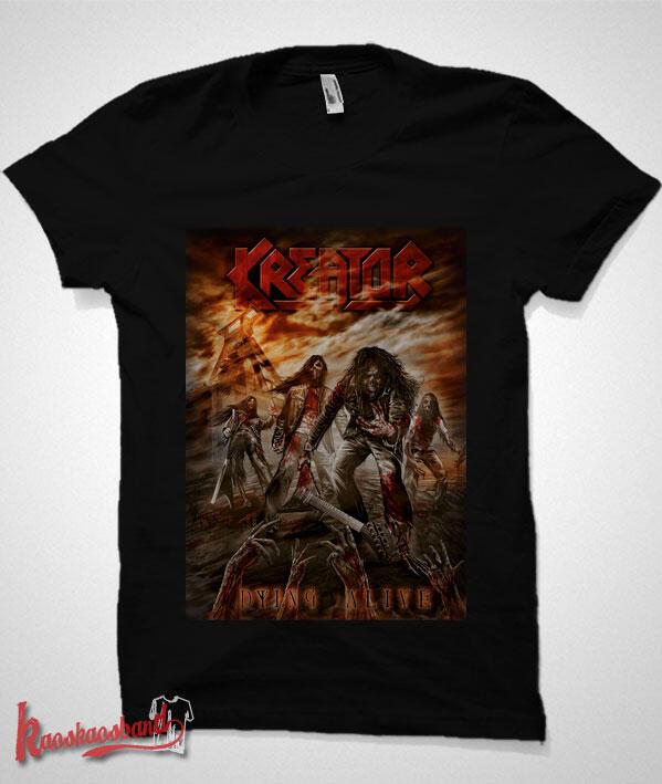 Jual kaos band Kreator - Slayer