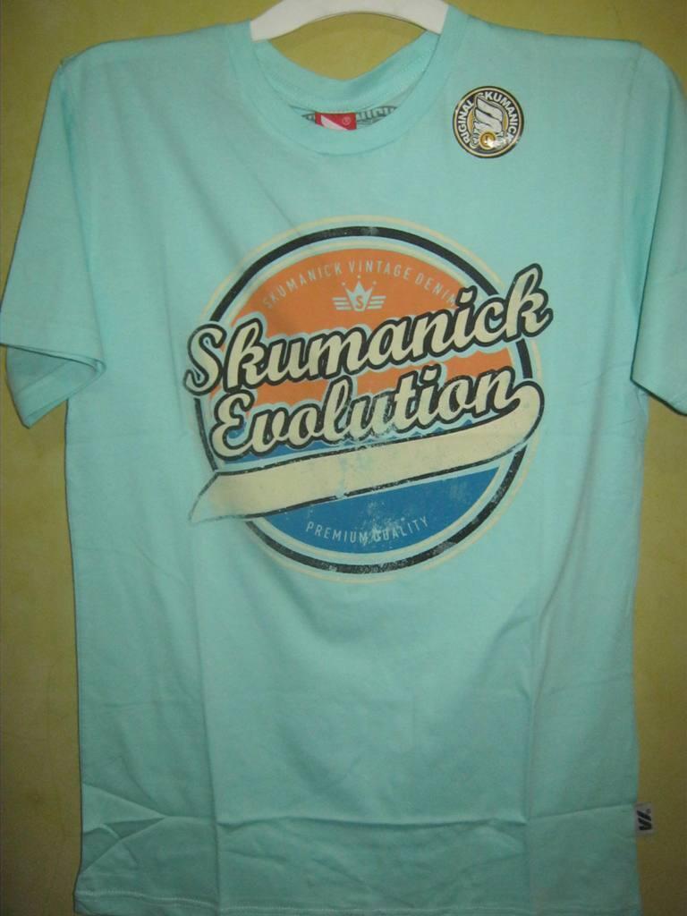 Kaos Distro Bandung Skumanick Original Free Gelang Trendy Free Ongkir/COD