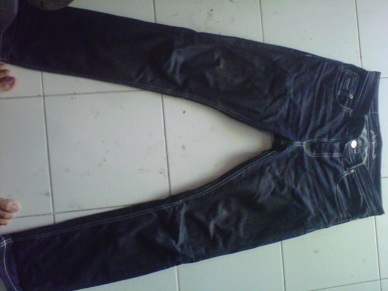 "celana jeans petersaysdenim ""established"" dan mischief ""SL002"" murah meriah"
