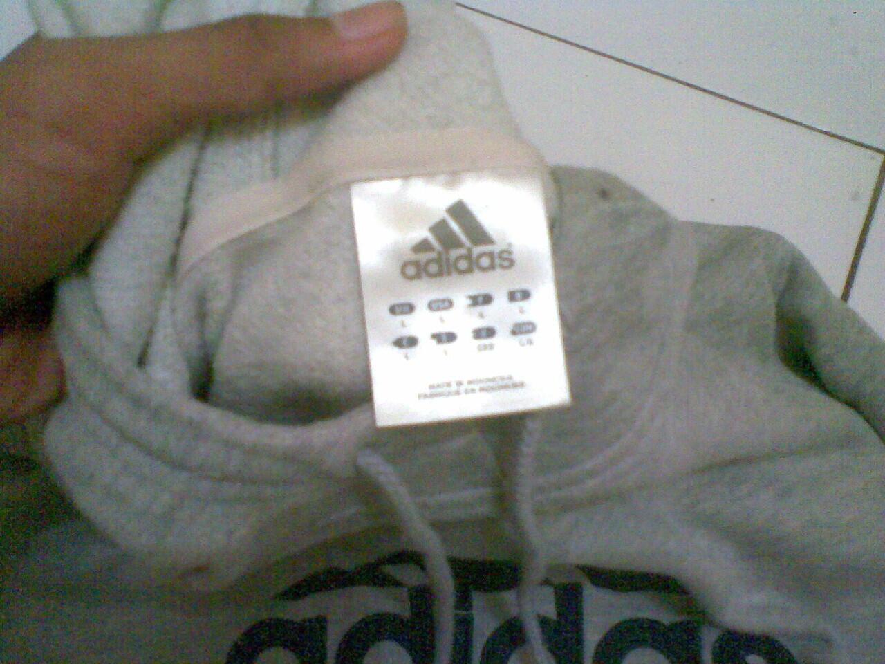 Jaket Hoodie Adidas Original istimewa !