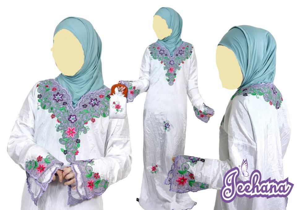 Jeehana - Mukena Abaya Instant (MAI Karancang)