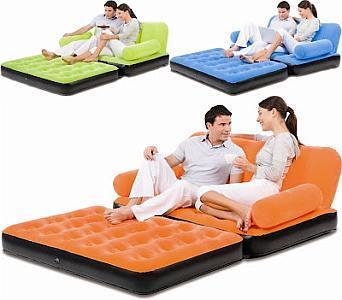 kasur angin sofa bed air o space 5in1 multifungsi