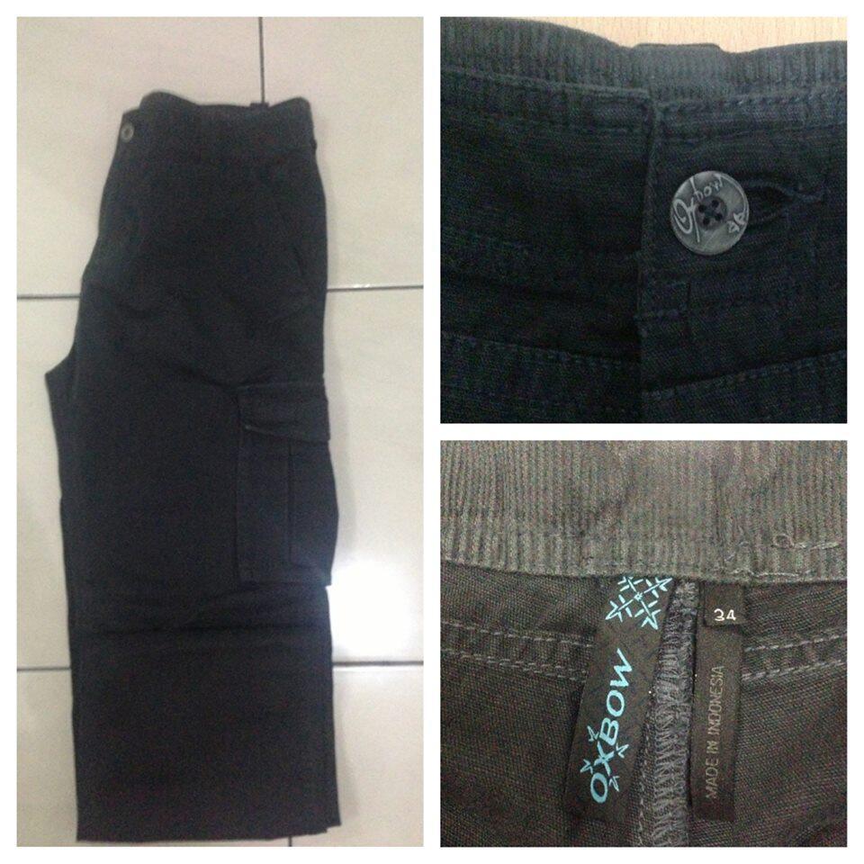 Long Pants Cargo brand Oxbow Man Size#Murah & Original