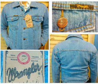 jacket wrangler model levis