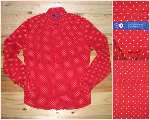 Garage Sale / Bongkar Lemari (Oxford Navajo Flannel Checkered Pattern Polo Shirt)