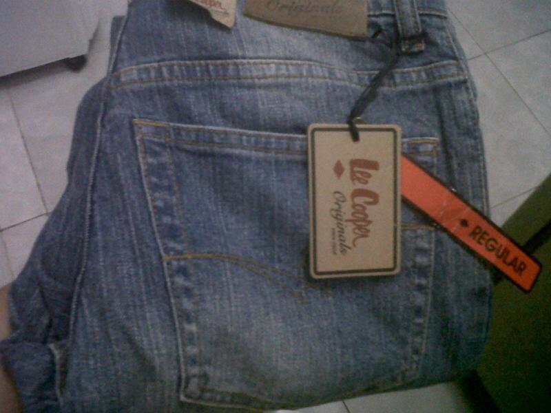 Celana Jeans Pria merk Lee Cooper Original murah