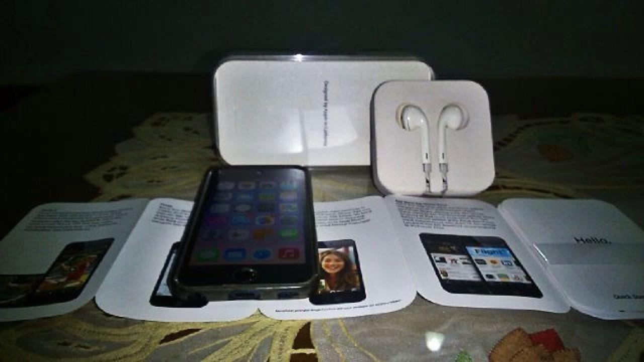 Jual iPod Touch 5th gen 32GB BLACK FULLSET