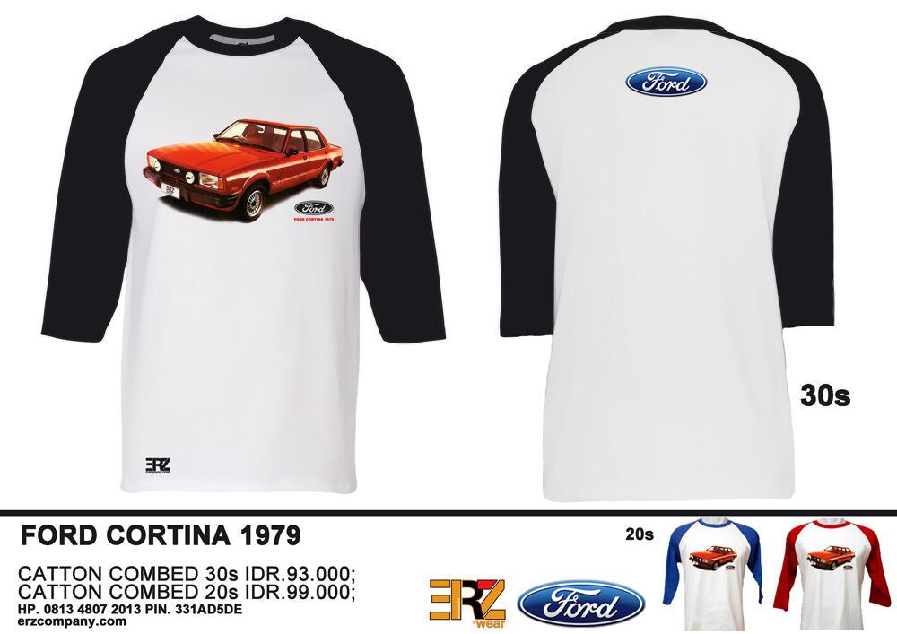 Jual Kaos DATSUN 510 dan FORD CORTINA