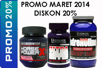 PROMO ULTIMATE NUTRITION - MARET 2014