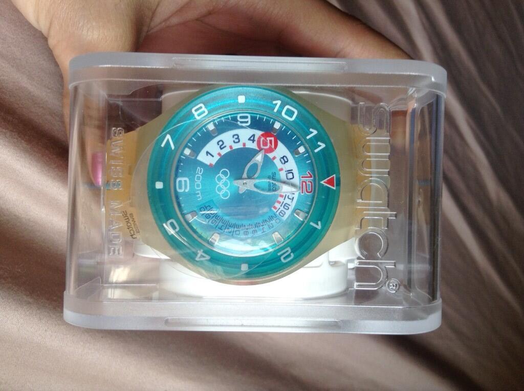 SWATCH underwater watch unik dan terawat