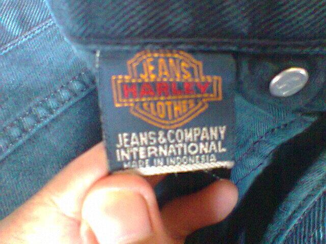 Celana panjang Harley Davidson Jeans