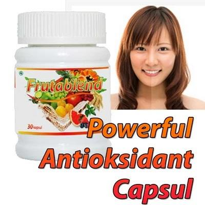 Frutablend Obat Jerawat Herbal, Pemutih Kulit Wajah ampuh