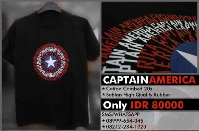 baju desain joker dan captain amerika