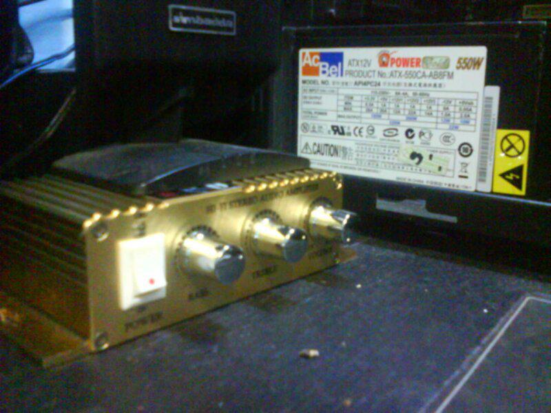 Power amplifier mini, cocok buat mobil,motor, rumahan..
