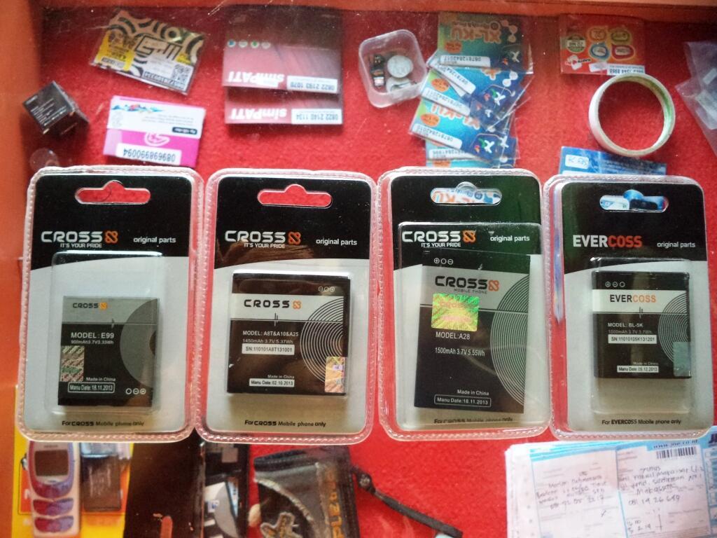 Terjual Baterai Evercoss Cross Original Kaskus A28b