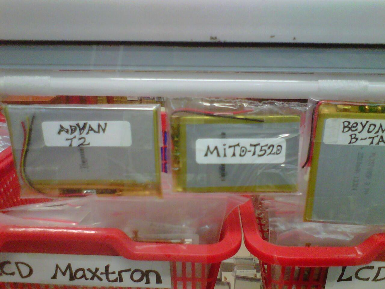 Terjual LCD Advan E1C Ori Barang Ga Banyak Dan T S S5E