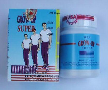 Grow Up Super USA Obat / Supplement peninggi badan