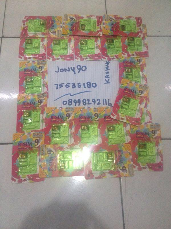 ready stock R-sim Rsim 9 Pro original Unlock IPhone 4s 5 5s 5c all carrier