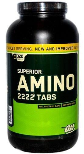 Superior amino on 320tab