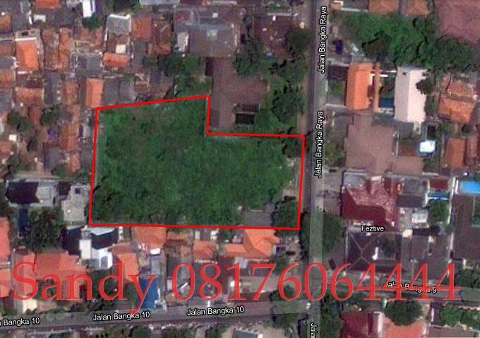 [DIJUAL] Tanah Dengan Lokasi Strategis di Bangka Jakarta Selatan
