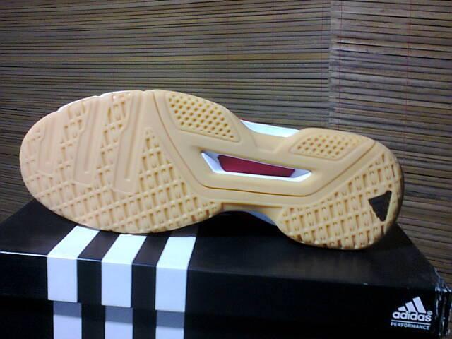 sepatu badminton adidas feather indoor original murmer gannn big sizebos