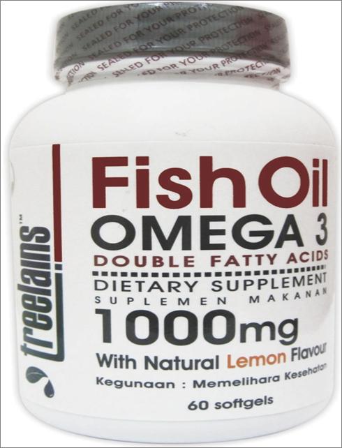 treelains Bundling ( omega 3 Double Fatty Acid + Co-Enzime Q 10 )