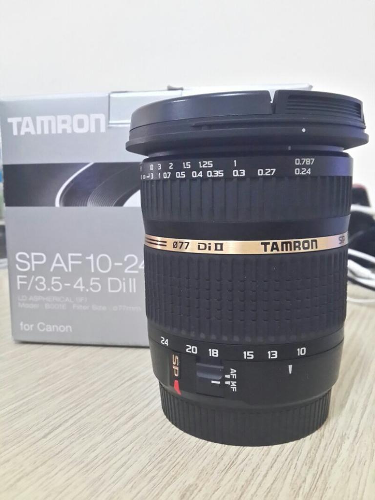 Tamron 10-24 for canon