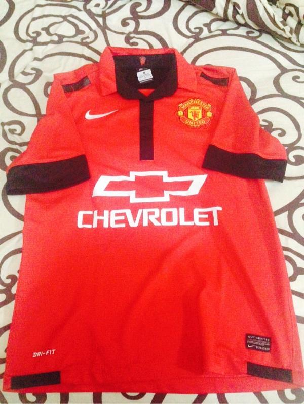 WTS Jersey Leaked Chervrolet Manchester United/Man.United 13/14 50rb!!