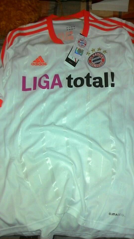 Jersey Bayern Muenchen Away 12/13 ORIGINAL SIZE L