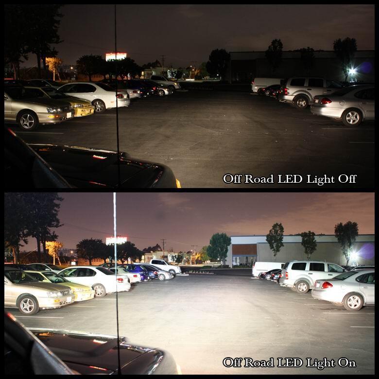 LIGHT BAR LED 126 WATT 20 INCH LAMPU SOROT OFF ROAD LED LIGHT BAR LED LIGHT