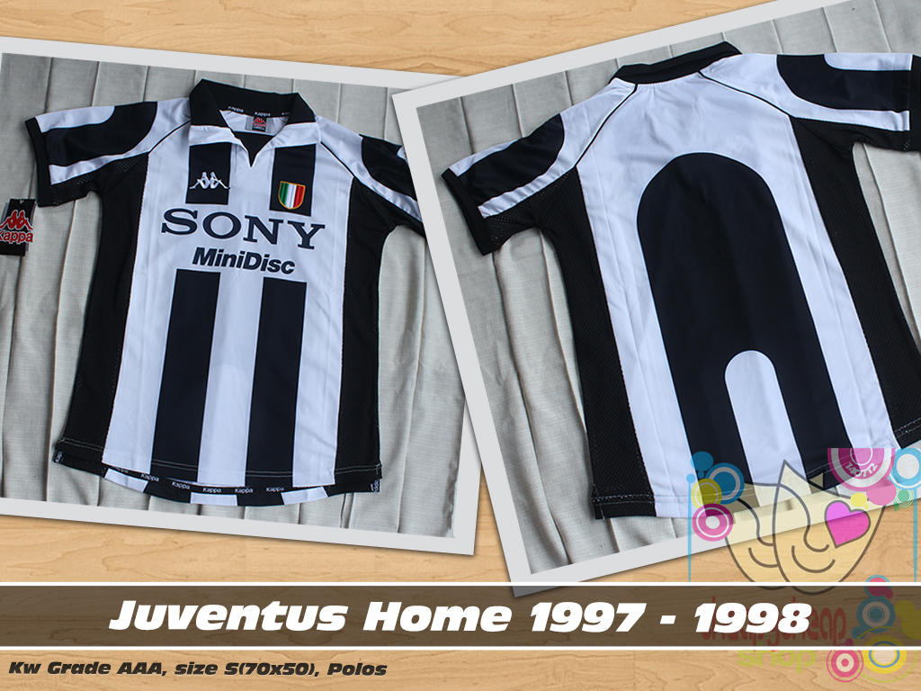 WTS Juventus Home 1997/1998 Cente Grade AAA BNWT