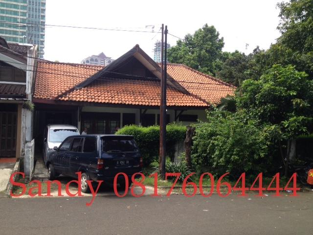 [DIJUAL] Rumah Jl. Kerinci, lokasi strategis dekat Pakubuwono