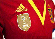 ADIDAS SPAIN Confederation Cup Home 2013