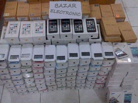 **SALE GADGET**IPHONE 4S/5/5C/5S|SAMSUNG NOTE3/S4/TAB/MEGA|NEW FULLSET ORIGINAL 100%