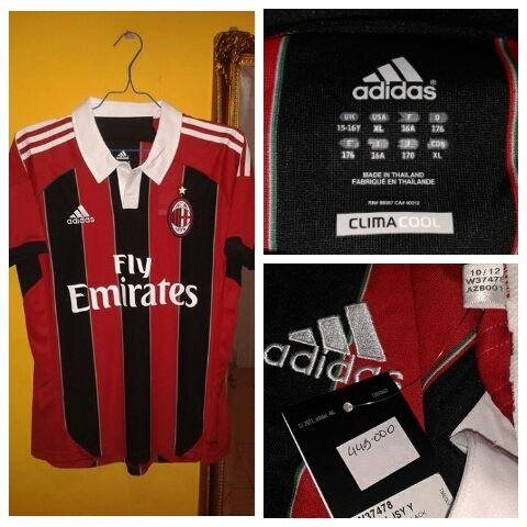 for sale ACMILAN HOME 12/13 ORIGINAL size XL kids 180rb..