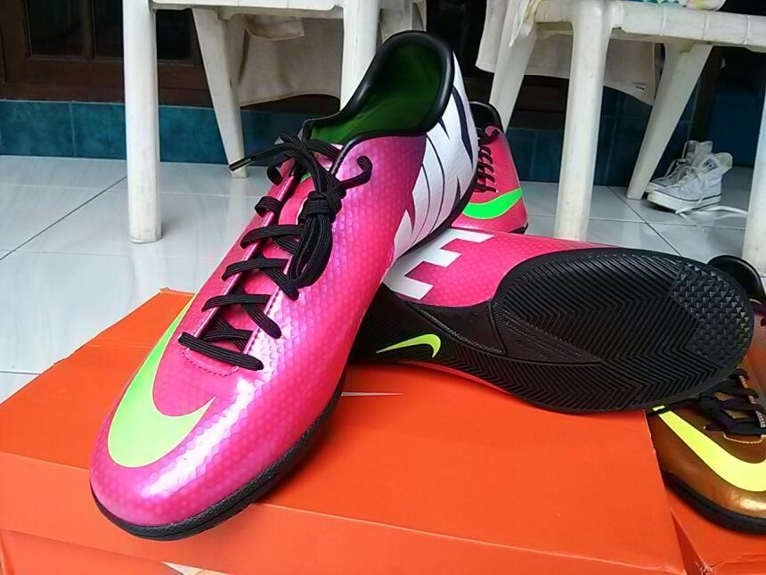 wts sepatu futsal nike mercurial iv ic fireberry size 43 original BNIB murah aja 450k