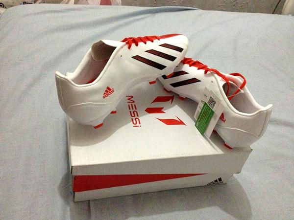 Sepatu Bola Adidas F10 TRX FG & Predator Absolion LZ TRX FG Original BNIB Size 40 2/3