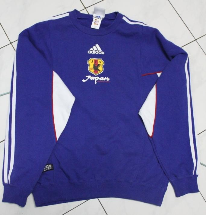 Sweater Adidas National Team Japan & Jacket Manchester United Original