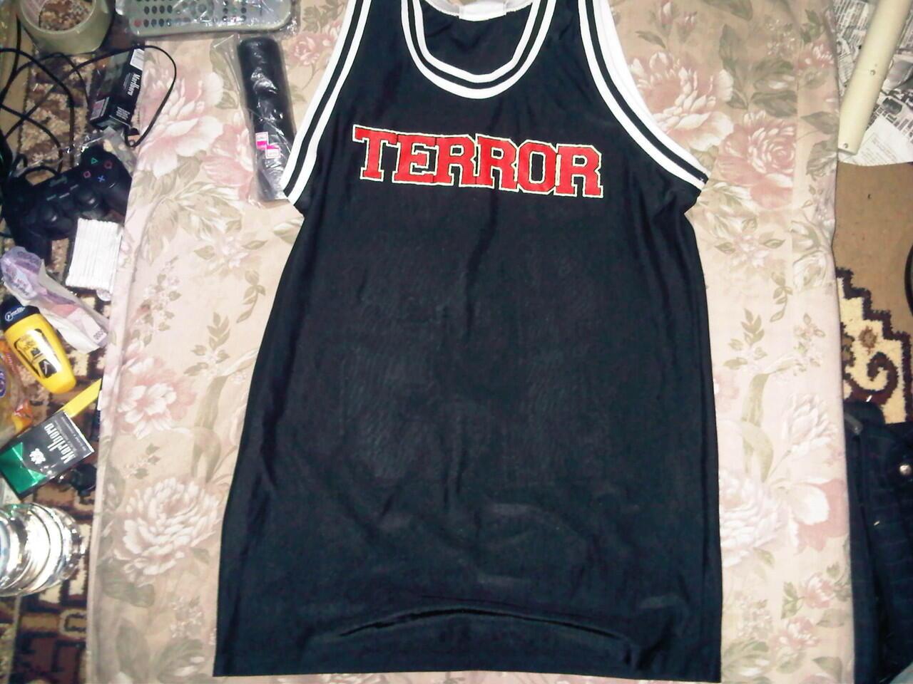 Jersey Basket Original Terror Band