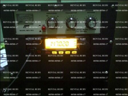 rental sewa ht handy talky icom weirwei motorola jabodetabek VHF/uhf