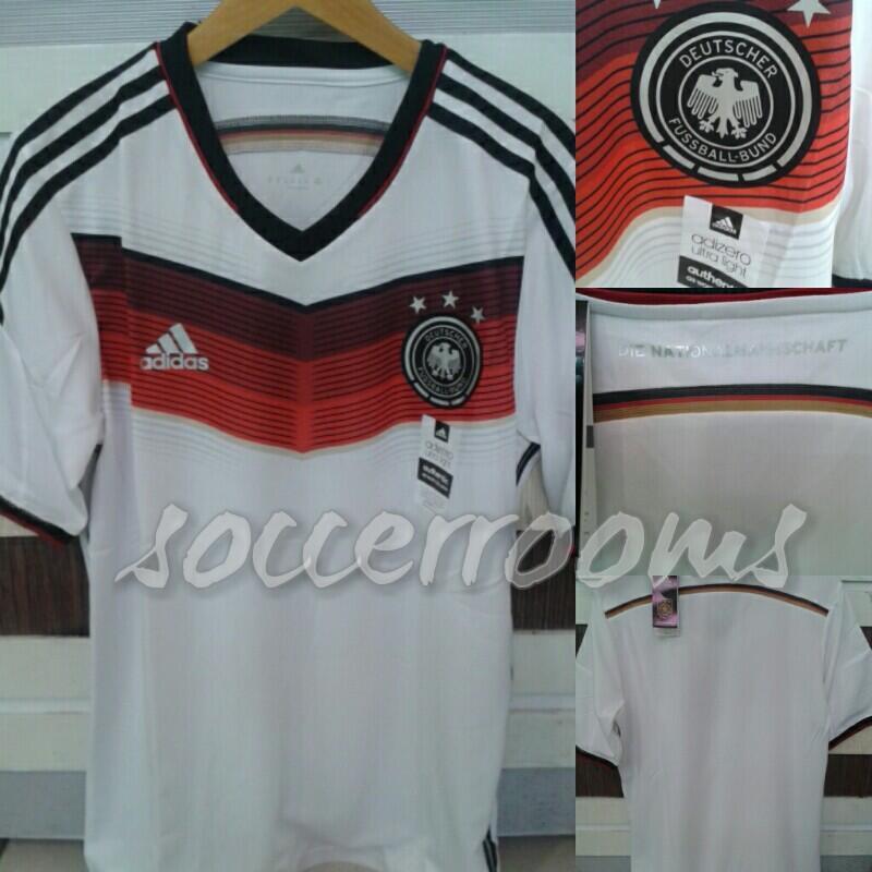 jersey germany/jerman home world cup 2014 paketan nama player/custom.. MURMER GAN !