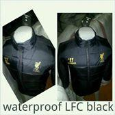 Jaket Waterproof (WP) Liverpool Black Non Hoodie