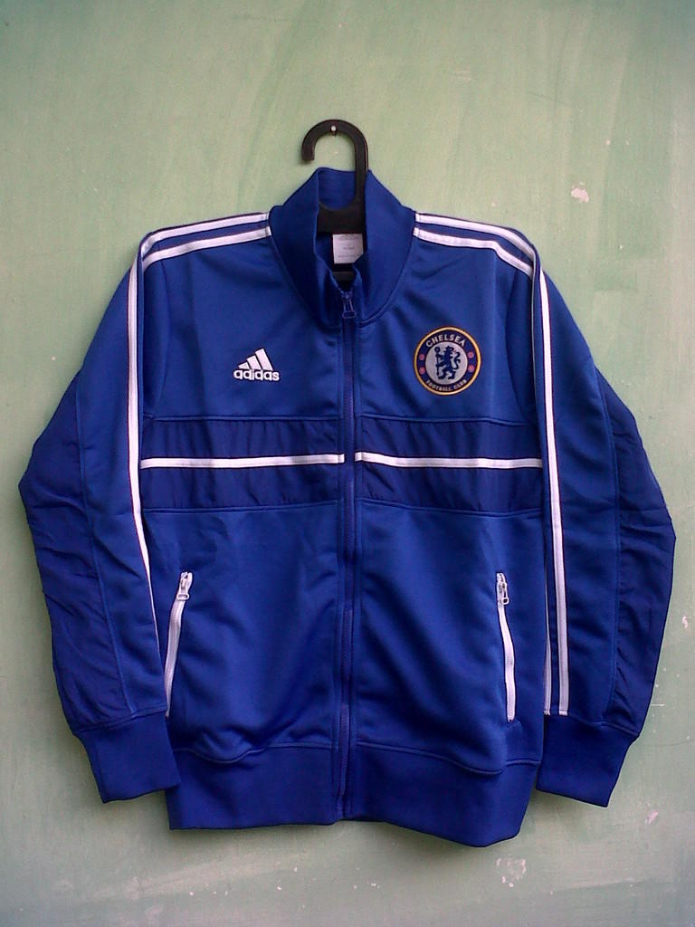 Jual Jersey Arsenal Away 2013/1014, Barcelona Away, Jaket Anthem Chelsea all size S