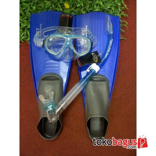 Paket Alat Selam Merk Amscud Type Sporty