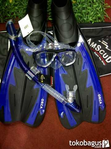 Paket Alat Selam Merk Amscud Type Orca