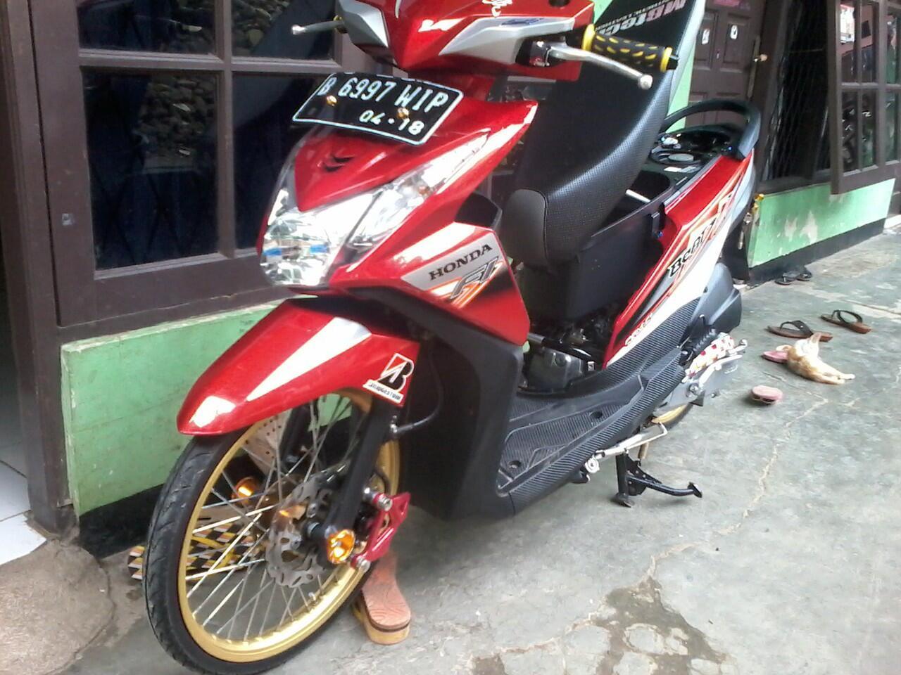 Motor Honda Beat Pgm Fi